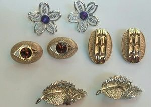 Vintage Sarah Coventry Clip On Earring Lot